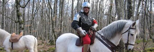 Salazar a caballo