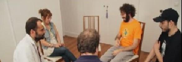 Terapia grupo otro ángulo